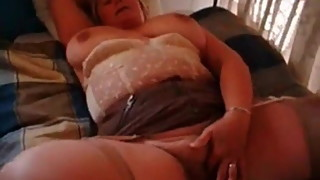 My MILF Exposed BBW busty mama playing with her fat pussy