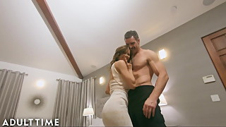 ADULT TIME Hot WIFE Alexis Fawx Cucks U with Police Officer!